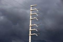 Torre de la energía Imagen de archivo libre de regalías