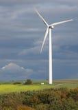 Torre de la energía eólica fotos de archivo libres de regalías