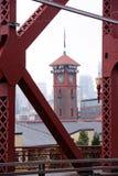 Torre de la estación de tren en Portland Fotografía de archivo