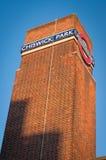 Torre de la estación del metro en Londres, Reino Unido: Estación del parque de Chiswick Fotografía de archivo