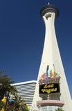 Torre de la estratosfera - Las Vegas - los E.E.U.U. imagen de archivo