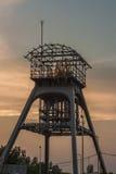 Torre de la extracción Foto de archivo libre de regalías