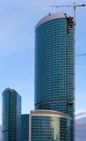 Torre de la federación, Moscú. Imagenes de archivo