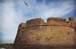 Torre de la fortaleza Fotos de archivo