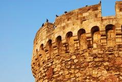 Torre de la fortaleza de Belgrado Foto de archivo libre de regalías
