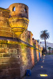 Torre de la fortaleza del pirata Imágenes de archivo libres de regalías
