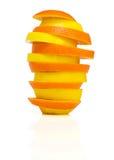 Torre de la fruta cítrica fotos de archivo libres de regalías