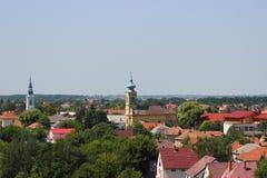 Torre de la iglesia Fotos de archivo libres de regalías