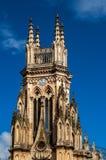 Torre de la iglesia de Lourdes Fotos de archivo libres de regalías