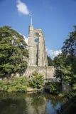 Torre de la iglesia de todo el santo, Maidstone Imágenes de archivo libres de regalías