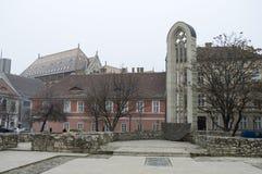 Torre de la iglesia del santo Mary Magdalene Fotos de archivo