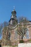 Torre de la iglesia luterana fotografía de archivo libre de regalías