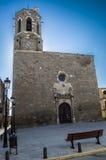 Torre de la iglesia y de alarma Imágenes de archivo libres de regalías