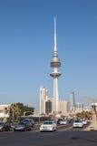 Torre de la liberación en Kuwait CIT Foto de archivo libre de regalías