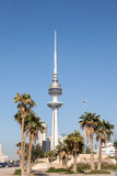 Torre de la liberación en la ciudad de Kuwait Fotos de archivo