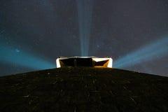 Torre de la luz Imágenes de archivo libres de regalías