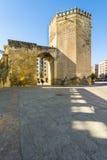 Torre de la Malmuerta, Cordoba, Andalusiz, Spain. Malmuerta Tower is a watchtower located at the Santa Marina de Cordoba, Spain Stock Photos