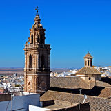 Torre de la Merced, Osuna, Spain. Imagem de Stock Royalty Free