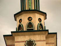 Torre de la mezquita Fotografía de archivo libre de regalías