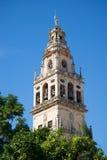 Torre de la mezquita de Codoba Foto de archivo