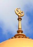 Torre de la mezquita en Singapur imagen de archivo libre de regalías