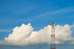 Torre de la microonda Foto de archivo