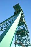 Torre de la mina Foto de archivo libre de regalías