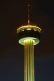 Torre de la noche foto de archivo