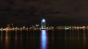 Torre de la noche Fotografía de archivo libre de regalías