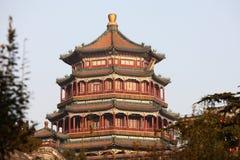 Torre de la obra clásica china Imagen de archivo libre de regalías