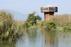 Torre de la observación de pájaros Foto de archivo libre de regalías