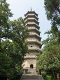 Torre de la pagoda de LingGu Foto de archivo