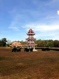 Torre de la pagoda, jardín chino Foto de archivo libre de regalías