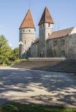 Torre de la pared de la ciudad de Tallinn Fotos de archivo