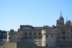 Torre de la pared de Londres Imágenes de archivo libres de regalías