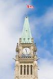 Torre de la paz de Ottawa foto de archivo