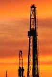 Torre de la perforación Fotografía de archivo libre de regalías