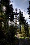 Torre de la perspectiva Fotos de archivo