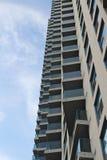 Torre de la propiedad horizontal fotos de archivo