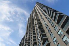 Torre de la propiedad horizontal fotografía de archivo