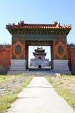 Torre de la puerta de la tumba de ZhaoXi en las tumbas reales del este del Qing Fotos de archivo libres de regalías