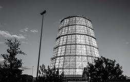 Torre de la refrigeración por agua Foto de archivo libre de regalías