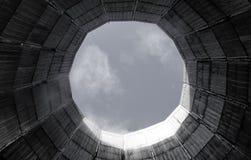 Torre de la refrigeración por agua Foto de archivo