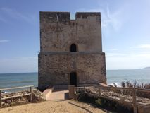 Torre de la sal Foto de archivo libre de regalías