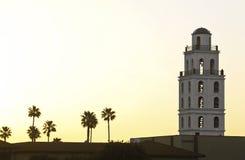 Torre de la salida del sol Fotos de archivo libres de regalías