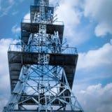Torre de la señal del teléfono Foto de archivo libre de regalías