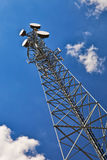 Torre de la telecomunicación. Imágenes de archivo libres de regalías