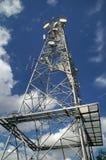 Torre de la telecomunicación Imágenes de archivo libres de regalías