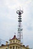 Torre de la telecomunicación Imagenes de archivo