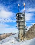 Torre de la telecomunicación en el top de Mt Titlis en Suiza Fotografía de archivo libre de regalías